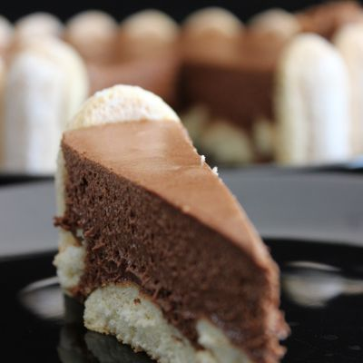 Charlotte au chocolat - Kolac sa cokoladnom penicom