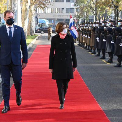 F.Parly en Croatie pour intensifier la coopération en matière de défense et promouvoir le Rafale