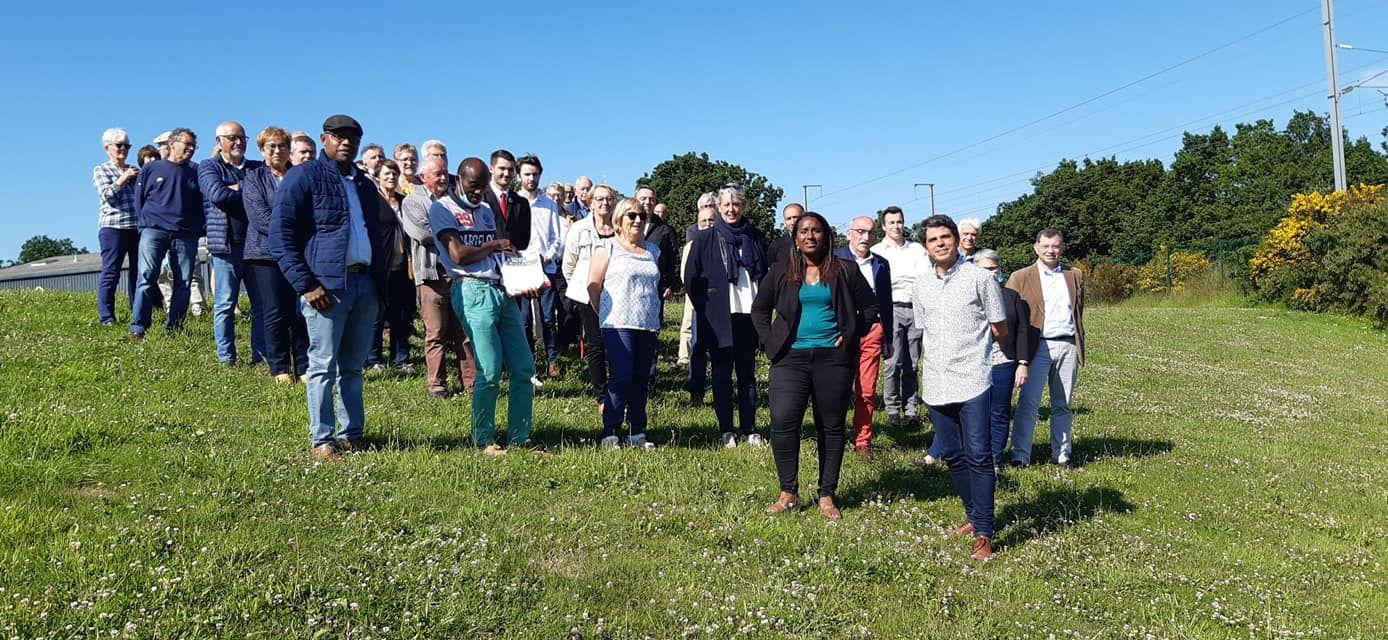 Binigou, Saint-Martin-des-Champs, 24 juin - Le comité de soutien de Gaëlle Zaneguy et Ismaël Dupont se rassemble pour la victoire de la gauche aux Départementales