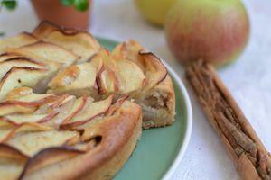 Gâteau aux pommes #sans oeuf #sans beurre