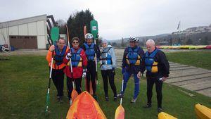 Traversée de Dijon sur l'Ouche en kayak le 03 avril 2015