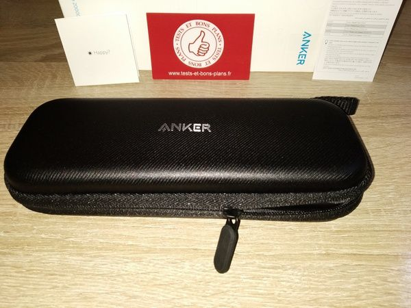 test de l'étui rigide pour batteries externes Anker Hard Case 20000 @ Tests et Bons Plans