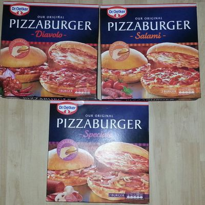DR. OETKER PIZZABURGER TEST