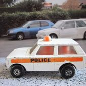 POLICE PATROL RANGE ROVER ROLAMATICS MATCHBOX - car-collector.net