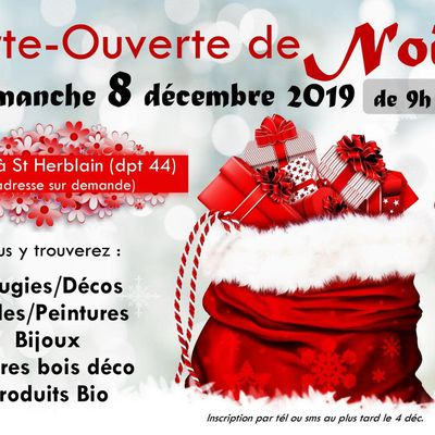 Porte-Ouverte de Noël : GRAND EVENEMENT ANNUEL 8 déc. 2019