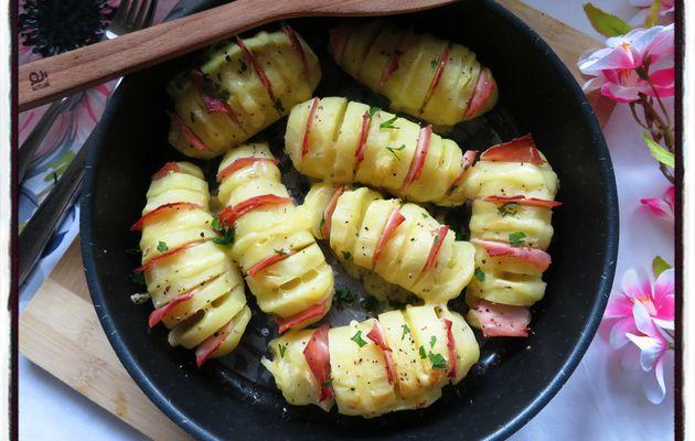 Pommes de terre gratinées au jambon et au comté