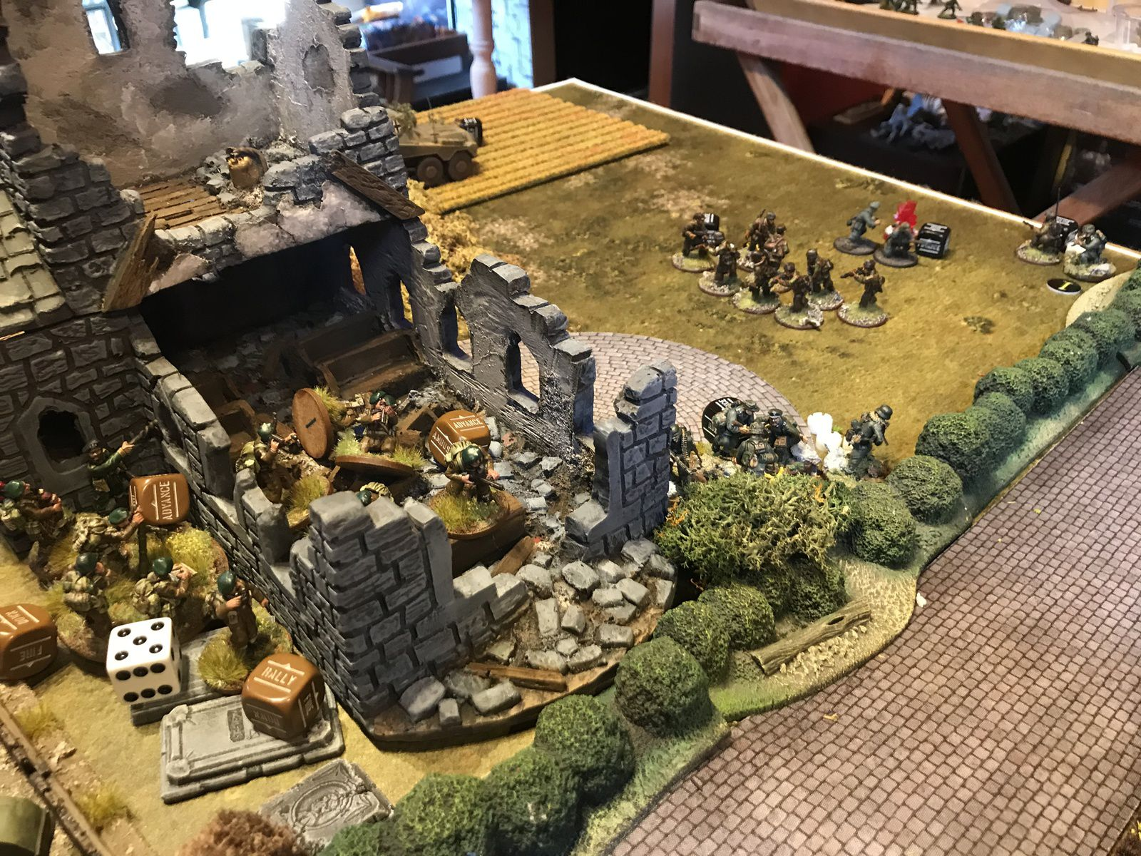 La Colline 112 - Attaque et contre attaque ! Bolt Action 2500 points