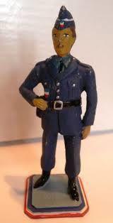 """Figurine série police """"Harki préfecture de police 1962"""""""