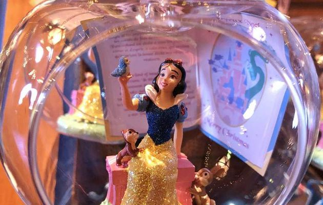 Boules de princesses Disney