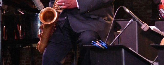 Pee Wee Ellis con la Big Band Jazz Company e Gabriele Comeglio a Vigevano