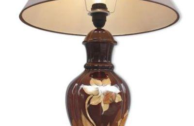 Lampe Drimmer Narcisse style Art Nouveau - 90 euros