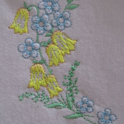 Broderie florale