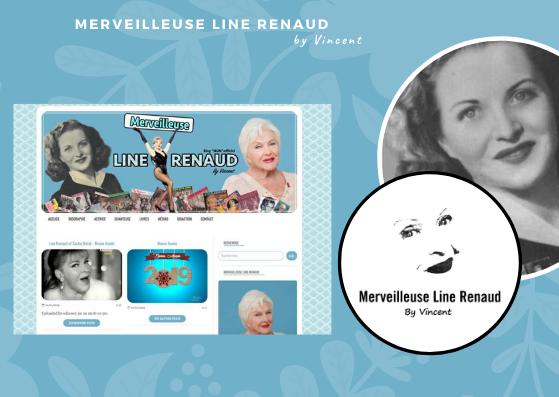 INFO BLOG: Le Blog «Merveilleuse Line Renaud» Change de Look pour 2019