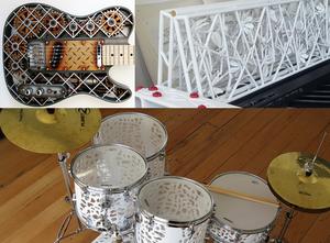 Les instruments de tout un orchestre imprimés en 3D