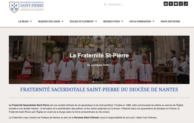 🔴 Nouveau site internet pour la Fraternité Nantaise 🔴