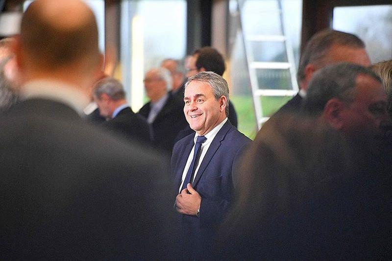 A 56 ans, Xavier Bertrand se lance dans la course à la présidentielle. Photo Christophe ARCHAMBAULT/AFP1 /1