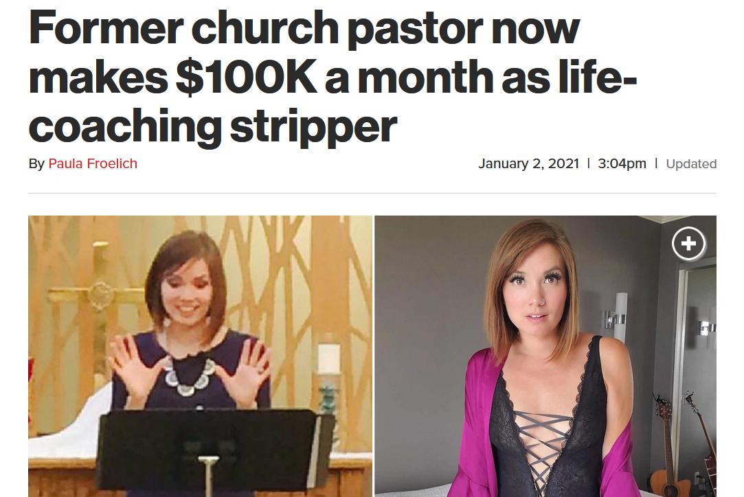 Nikole Mitchell : Du pastorat vers Onlyfans