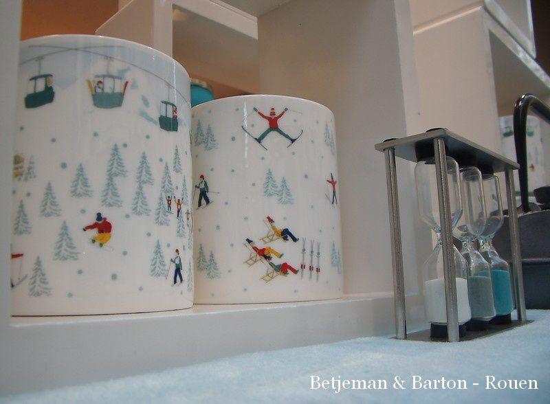Le ski dans un mug !