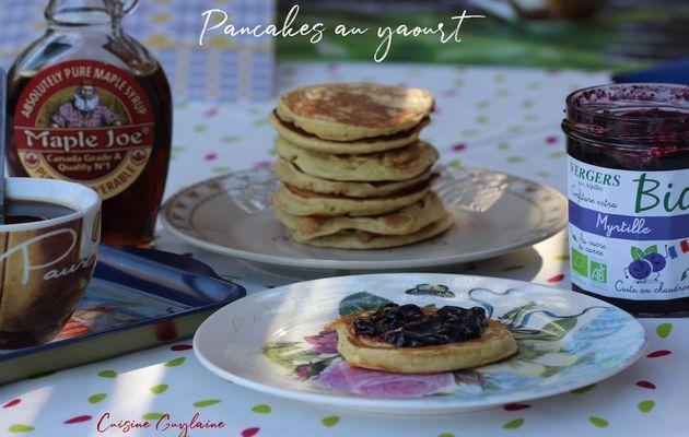 Pancakes au yaourt très moelleux