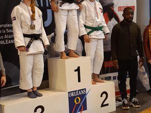 Chiara DEMIN : championne de France Jujitsu Combat
