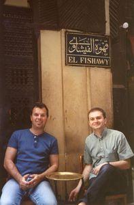 2005 juin Egypte avec Koshi et Ilias