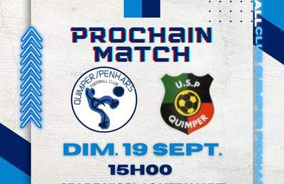 FCQP : dimanche, match de coupe du Conseil départemental à Kervahut