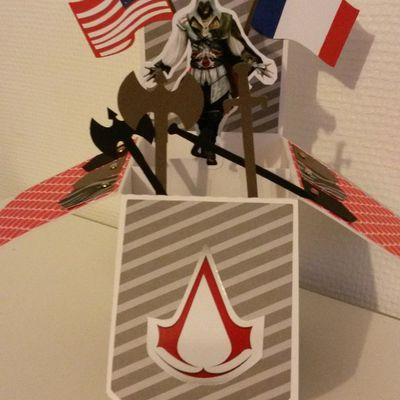 Assassin's creed card