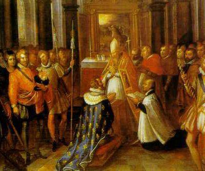 27 février 1594 - Sacre d'Henri IV