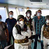 Inspection sans problème d'un navire turc en Méditerranée centrale - B2 Le blog de l'Europe géopolitique