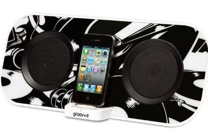 Price comparisons for Groov-e iSpeakerDock50 Designer 12W Speaker for iPhone/iPod