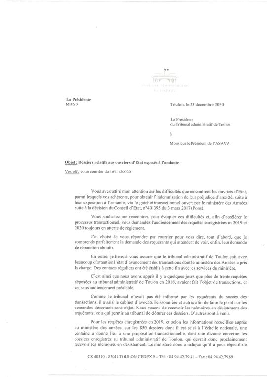 Transaction Anxiété:  l'ASAVA: INTERROGE §