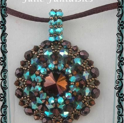 Collier Léo Choco turquoise AB