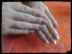 Nail Art Kawaii Girly....