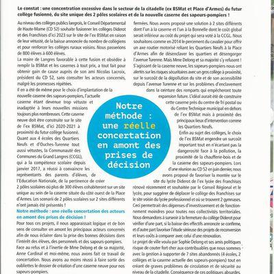 LE JOURNAL D IMAGINONS DEMAIN 2018 page 4