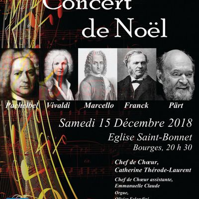 Les Chœurs de Bourges en concert