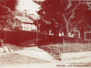 N° 81 rue Clemenceau à Algrange - Ecole - Square et Parkings