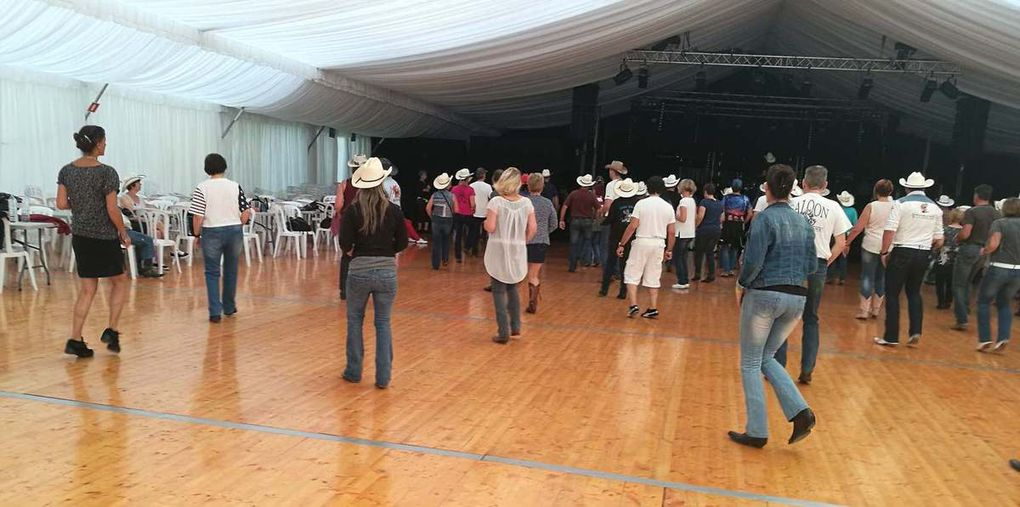 Photos de  la journée du 24 octobre 2017 en photos pas facile la vie de Cowboy Country 45 à Santa Susanna