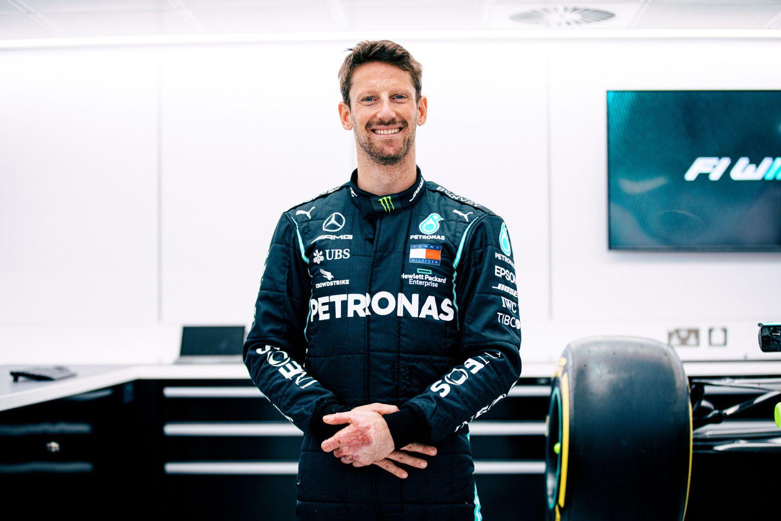 Romain Grosjean va boucler la boucle