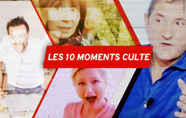 Les 10 moments culte du confinement ! (Vidéo) #Zapping #RestezChezVous