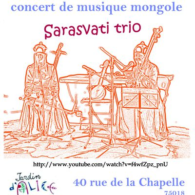 Concert mongol -14 février