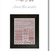 Jeanne Ries sampler - GigiR Designs