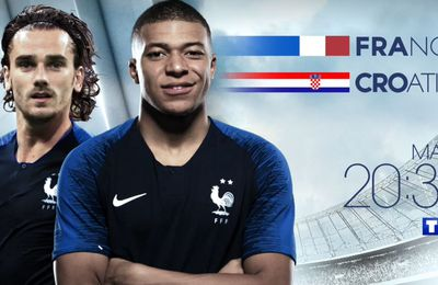France / Croatie (Ligue des Nations) en direct ce mardi sur TF1 !