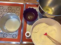 Les macarons au chocolat de Poulette