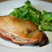 Confit de canard en 2 heures - Recette du confit canard simplifié (cuisses de canard confites) par Chef Simon