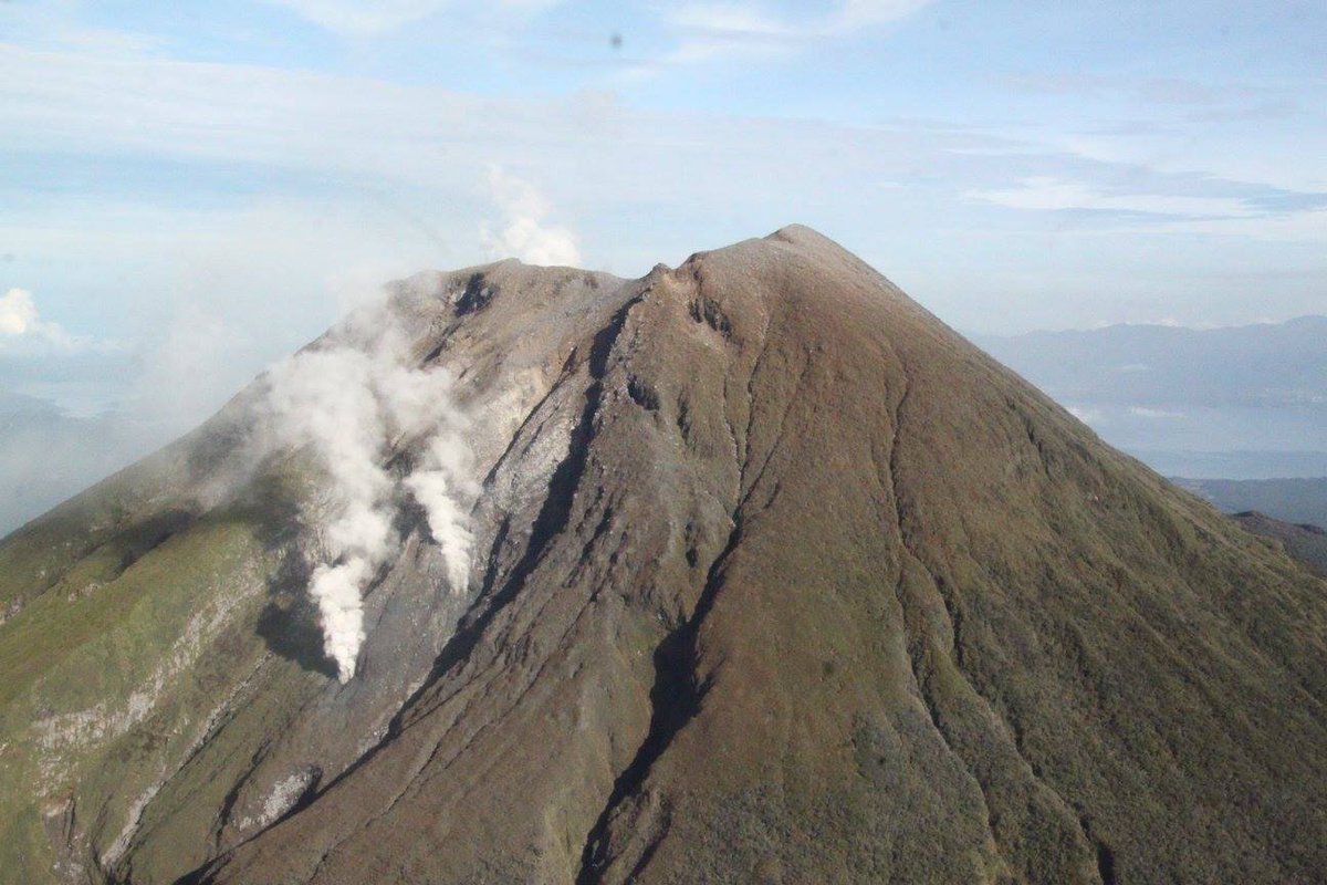 Bulusan - surface thermal events - overview PHIVOLCS-SPDRRMO / archives 10.2016