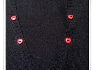 Customisation robe noire