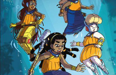 MULATAKO, Tome1 Immersion, une BD jeunesse d'afro science-fiction