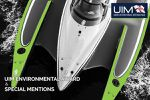 UIM Environmental Award and Special Mentions.