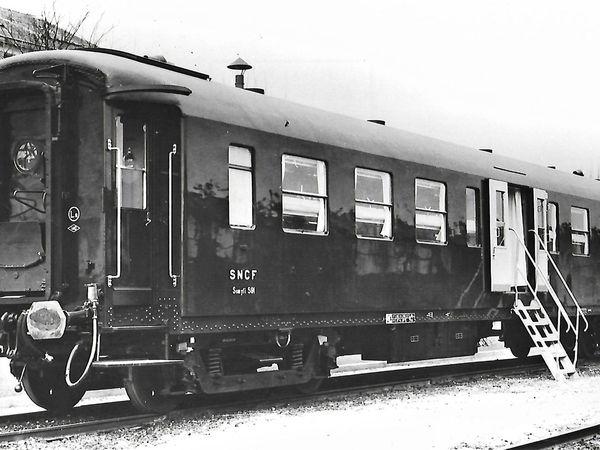 Les trains sanitaires des années 50-60 étudiés selon des spécifications militaires