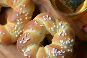 Petits pains portugais au lait concentré sucré